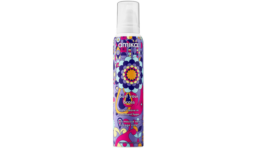 Amika Bust Your Brass Violet Leave-In Treatment