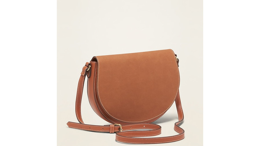 RX_1908_Fall Handbags_Old Navy Faux-Leather Saddle Bag