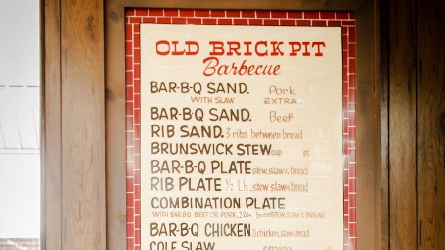 50. Old Brick Pit Barbeque
