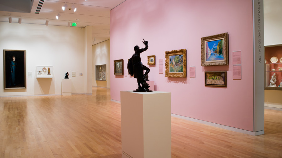 Spend the afternoon at the Georgia Museum of Art