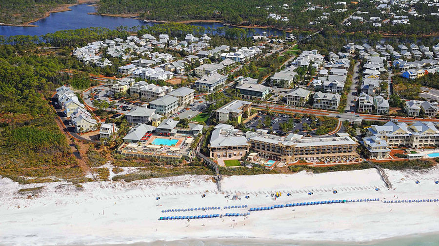 One of the newer communities along Florida's idyllic 30A, WaterColor is anchored by an inn and resort of the same name, with a prime waterfront spot on the Gulf and a slew of activities to entertain beach-goers of all ages. Tucked between Seaside...