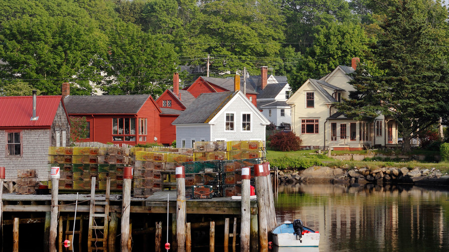 Homes on Vinalhaven