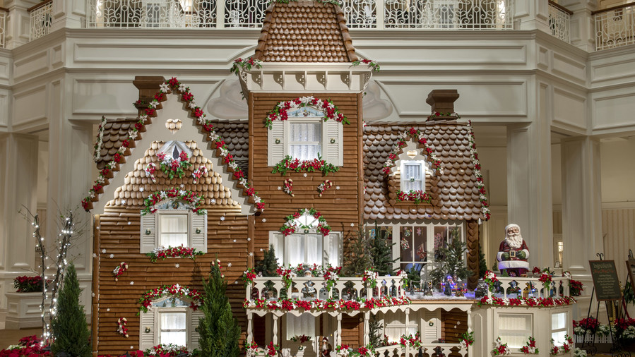 All of the Incredible, Life-Size Gingerbread Houses at Disney Parks This Year