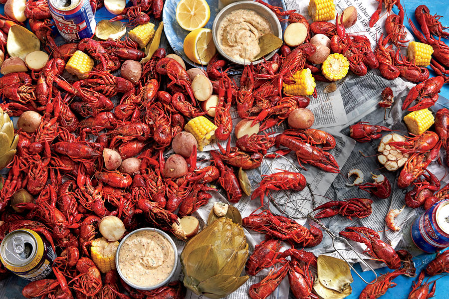 SL's Stovetop Crawfish Boil