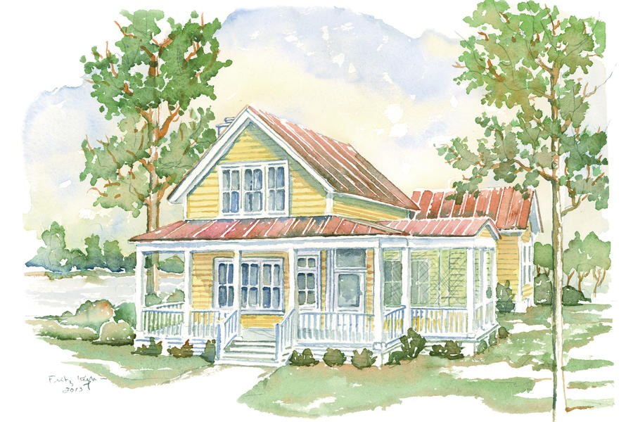 Cottage living house plans we know you ll love for Southern homes and gardens house plans