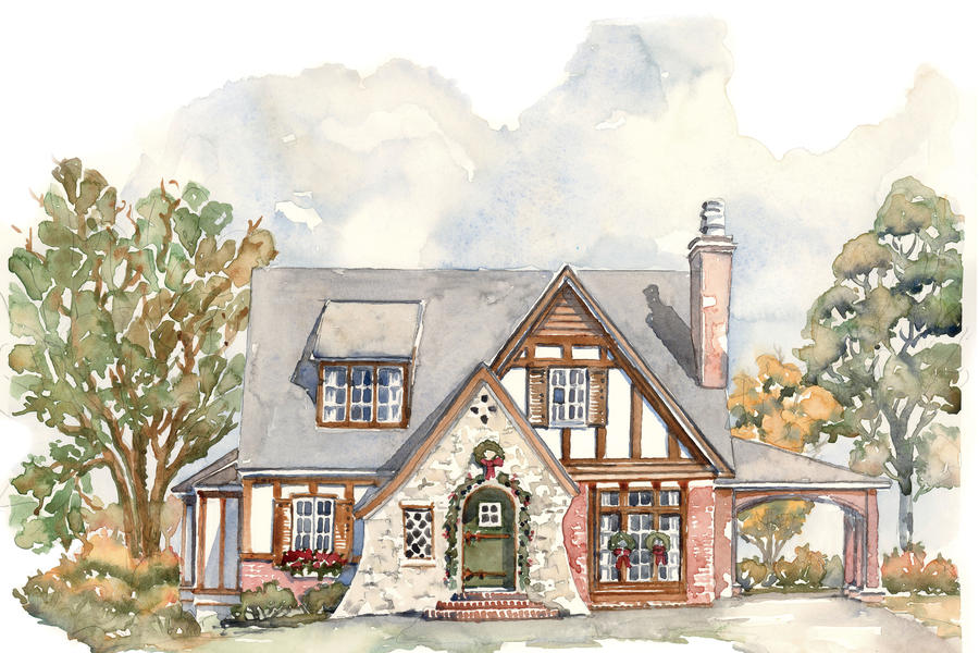 A tiny tudor house plans we know you ll love southern for Tudor cottage house plans