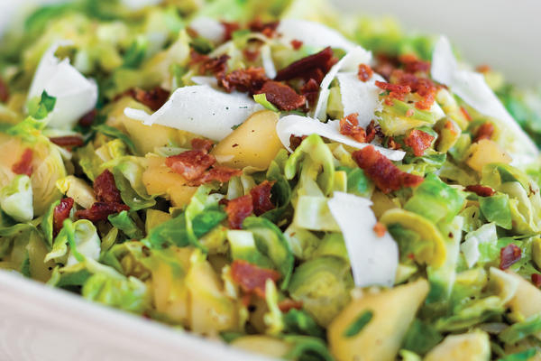 Sauted Brussel Sprouts with Apples Thanksgiving Salads