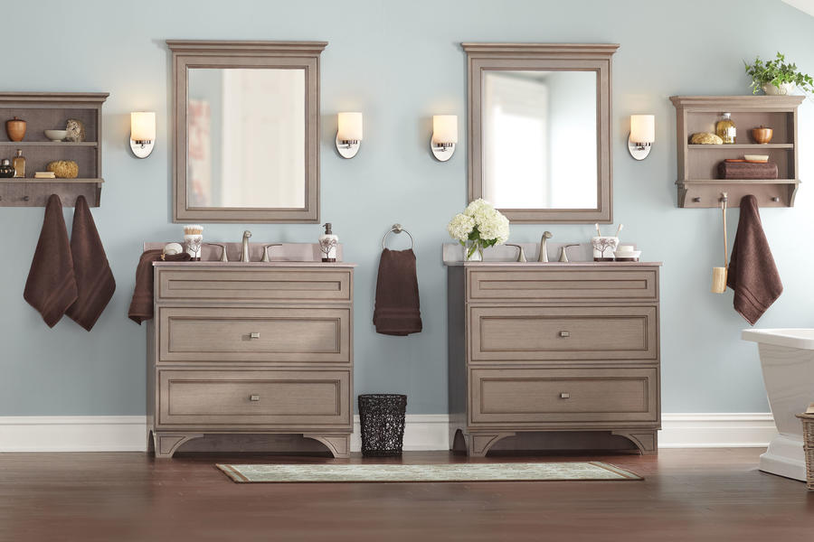 Winter Grey Vanities