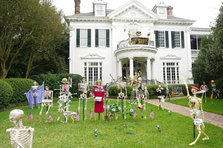 State Stree Trick or Treat in New Orleans