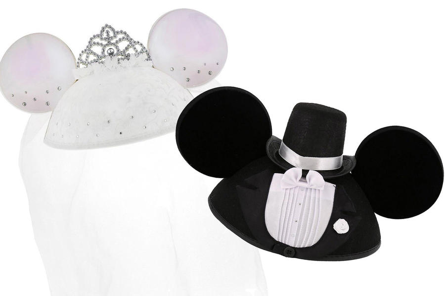 Disney Bride and Groom Ears
