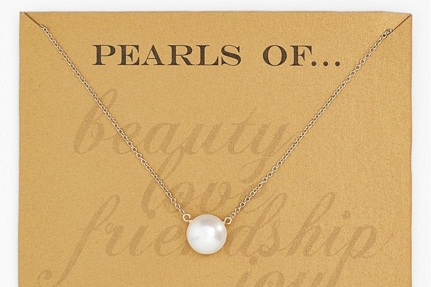 Pearls of Friendship Necklace