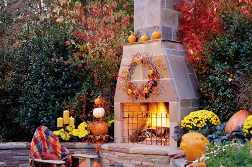 Autumn's Outdoor Room