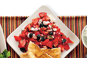 Tomato-Feta Salad Recipe