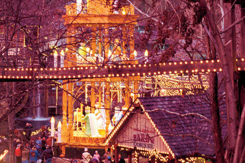 Winter Trips: Dollywood, Pigeon Forge, TN
