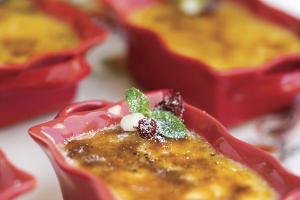 """[RECIPE_LINK """"1673180"""" """"White Chocolate-Cranberry Crme Brle""""]"""