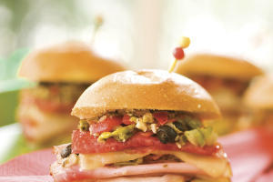Easy Mini Muffuletta