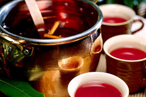 Mulled Cranberry Cider from Southern Living