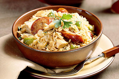 Cajun Recipes: 1-2-3 Jambalaya