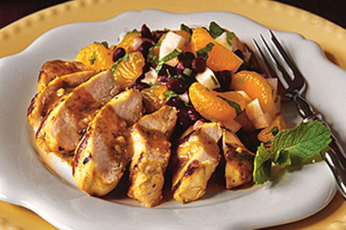 Cuban Mojo Chicken With Mandarin-Black Bean Salad ...