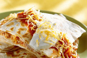 Easy Microwave Quesadillas