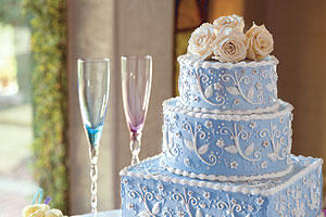 Amaretto Cream Wedding Cake