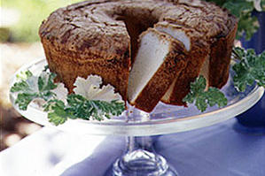 Lemon Geranium Pound Cake