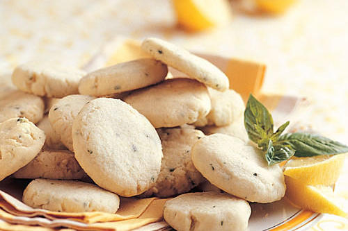 Best Cookies Recipes: Lemon-Basil Butter Cookies Recipes