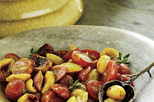 Fall Recipes: Roasted Grape Chutney