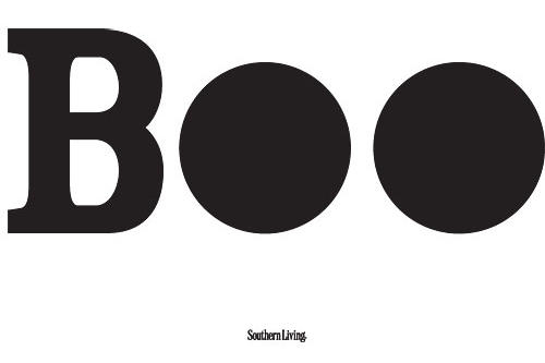 """Solid """"Boo"""" Pumpkin Carving Template"""