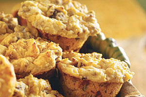Muffins and Bread Recipes: Sausage Cheese Muffins