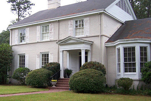 House Makeover Ideas: Southern Colonial Revival Home