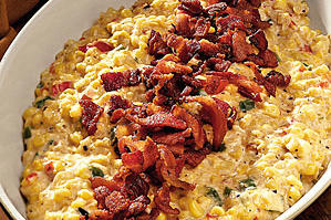 Thanksgiving Dinner Side Dishes: Creamy Fried Confetti Corn