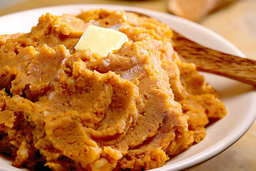 Thanksgiving Dinner Side Dishes: Harvest Mashed Potatoes Recipe