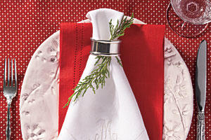 Christmas Dinner Napkin Ring Ideas