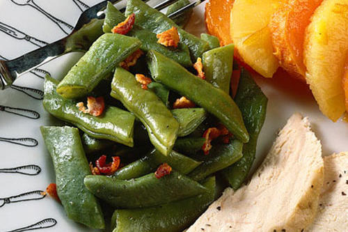 Home-Cooked Pole Beans