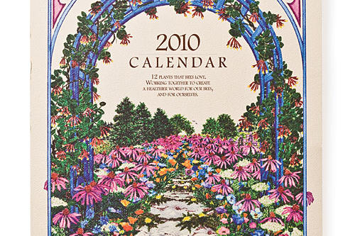 Gift Ideas for Her: Southern-made Goods for the New Year: Bee Lover's Garden Calendar