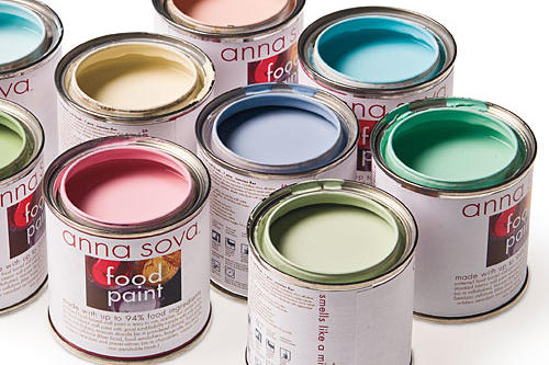 Gift Ideas for Her: Southern-made Goods for the New Year: Anna Sova Food Paint
