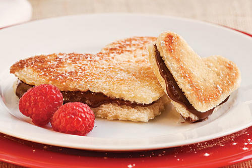 Chocolate Recipes: Grilled Chocolate Sweetheart