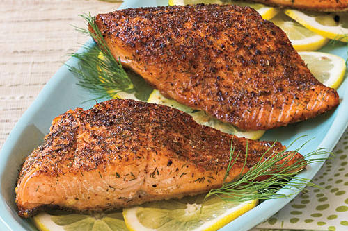 Quick and Easy Dinner Recipes: Chili-Rubbed Salmon