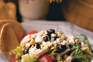 Healthy Main Dish Salad Recipes: Greek Chicken Salad
