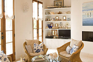 Give Your Living Room a Sense of Place