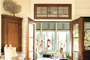 Coastal Dining Porch