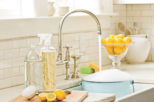 Make your own cleaning solutions
