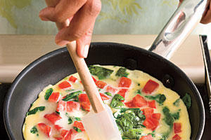 How to Make Omelets Recipes: Step 2: Lift and Tilt