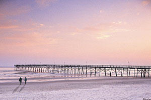 Secluded Southern Beach Vacations: Sunset Beach and Bird Island