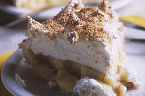 Best Southern Pies: Coconut Meringue,  Whistle Stop Restaurant