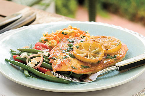 Quick and Easy Chicken Recipes: Lemon Chicken