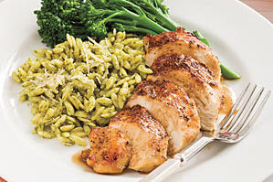 Quick and Easy Chicken Recipes: Balsamic-Garlic Chicken Breasts