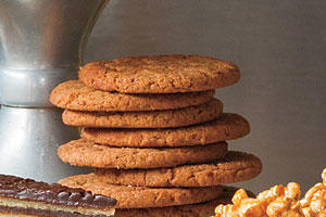 Sorghum and Spice Cookies