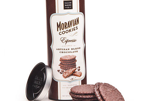 Christmas Holiday Gift Ideas: Chocolate Enrobed Moravian Cookies